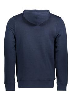 jorjop sweat hood 12144357 jack & jones sweater total eclipse/slim