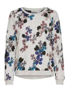 Only sweater onlKATINKA L/S O-NECK AOP BOX SWT 15175895 Oatmeal/FLOWER
