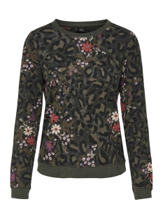 Only Sweater onlKATINKA L/S O-NECK AOP BOX SWT 15175895 Kalamata/FLOWER