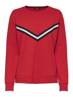 Only Sweater onlOZZY L/S O-NECK SWT 15175154 Flame Scarlet