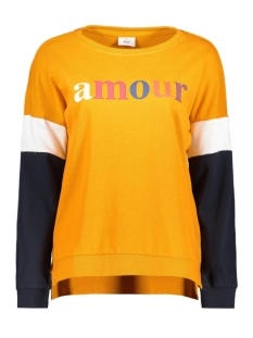Only Sweater nlELSA L/S O-NECK AMOUR SWT 15177192 Golden Yellow/AMOUR