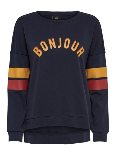 Only Sweater onlELSA L/S O-NECK AMOUR SWT 15177192 Night Sky/BONJOUR