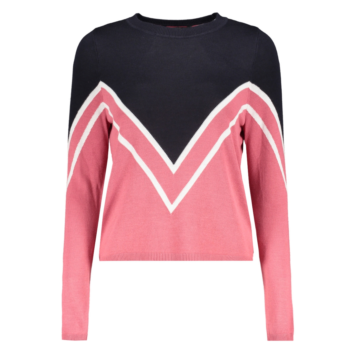 onlholli l/s pullover knt 15160799 only trui night sky/rose