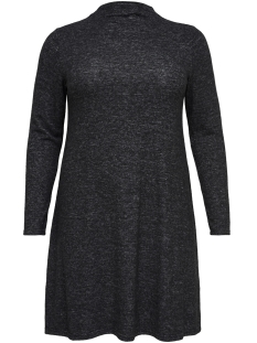 Only Carmakoma Jurk carINDIA L/S DRESS 15169656 Dark Grey Melange