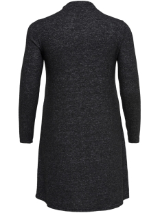carindia l/s dress 15169656 only carmakoma jurk dark grey melange