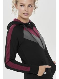 onpmegane zip hood sweat 15159478 only play sport vest black