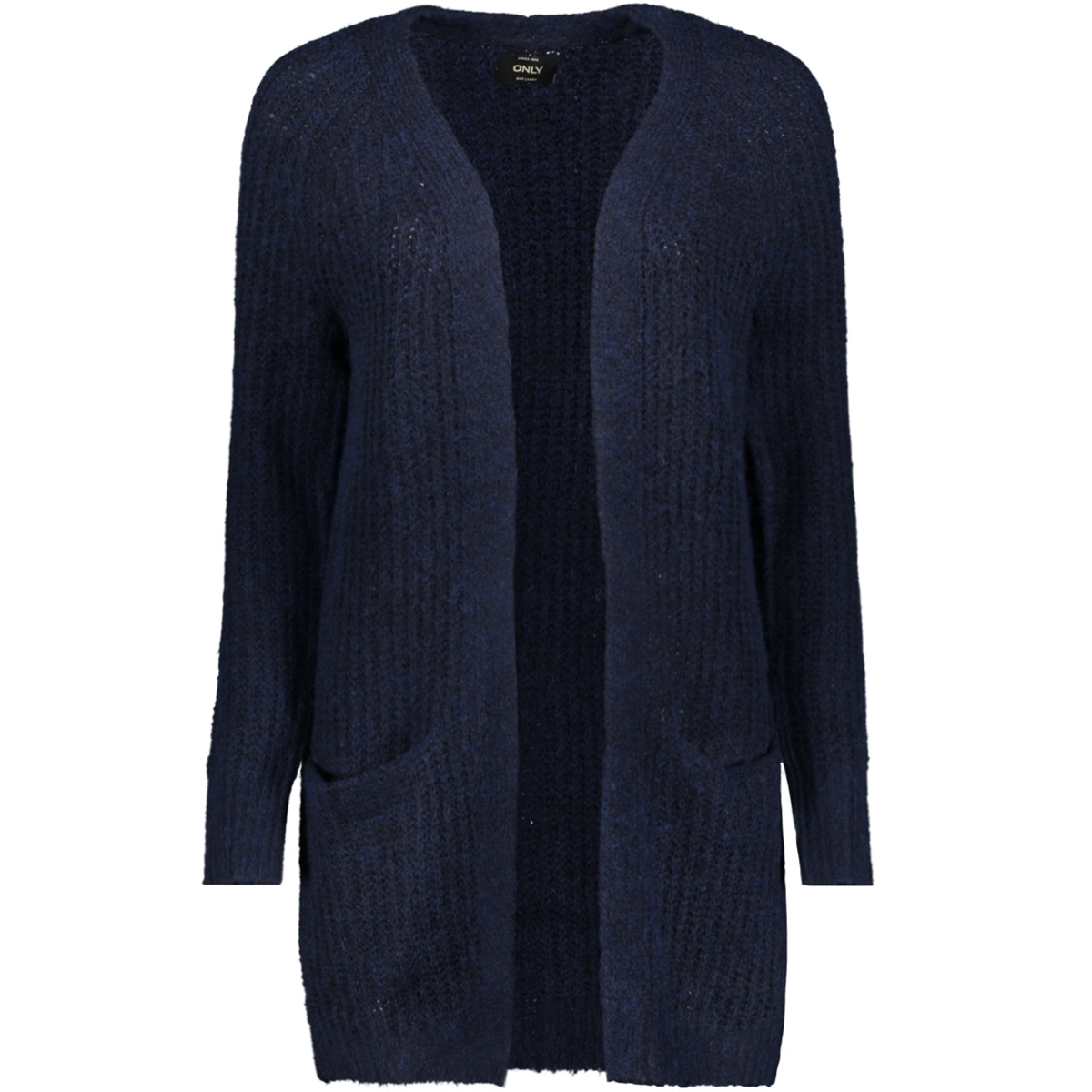 onlvega l/s cardigan knt 15160729 only vest night sky