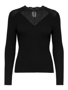 Only Trui onlILARIA L/S PULLOVER KNT 15165532 Black/DTM LAC