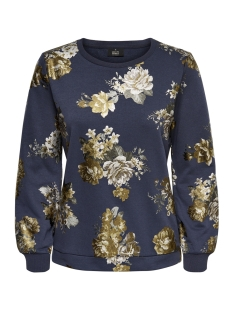 Only Sweater onl ISABELLA L/S O-NECK FOIL SWT 15175846 Blue Night