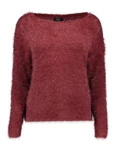 Only Trui onlGAIA L/S PLAIN PULLOVER KNT 15164432 Chocolate Truffle