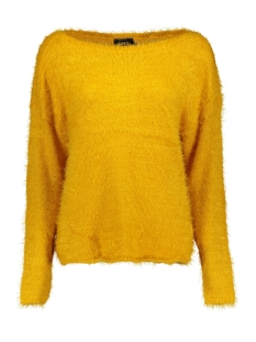 Only Trui onlGAIA L/S PLAIN PULLOVER KNT 15164432 Golden Yellow