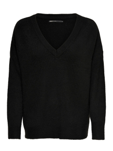 Only Trui onlORLEANS V-NECK PULLOVER KNT 15166163 Black
