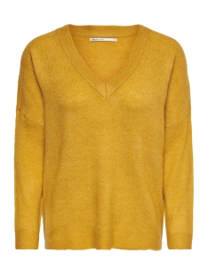 Only Trui onlORLEANS V-NECK PULLOVER KNT 15166163 Golden Yellow/W. MELANGE