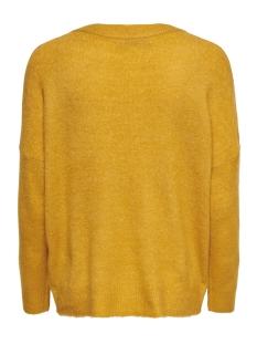 onlorleans v-neck pullover knt 15166163 only trui golden yellow/w. melange