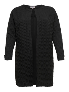 Only Carmakoma Vest carBITSA LS SWEAT CARDIGAN 15168163 Black