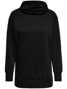 onljenny l/s highneck swt 15166980 only sweater black