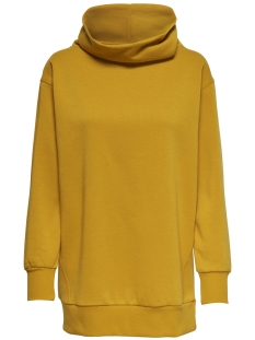 onljenny l/s highneck swt 15166980 only sweater golden yellow