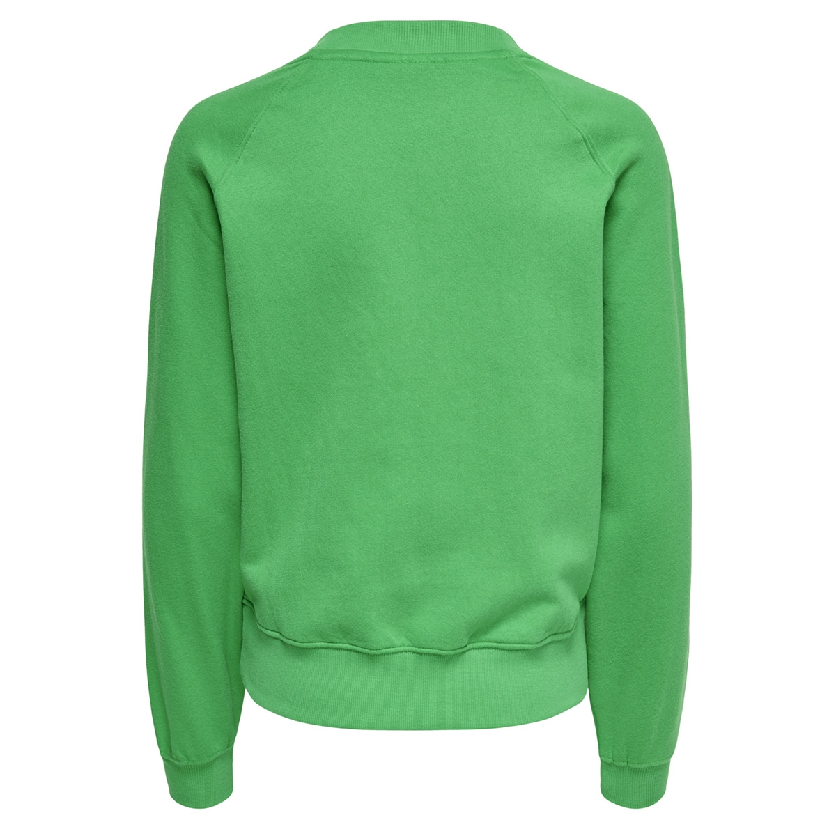 onllotta l/s o-neck bf swt 15166488 only sweater bright green