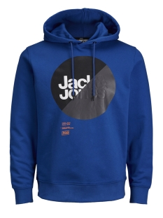 Jack & Jones sweater JCOLOGAN SWEAT HOOD 12143100 Classic Blue/JJ ARTWORK