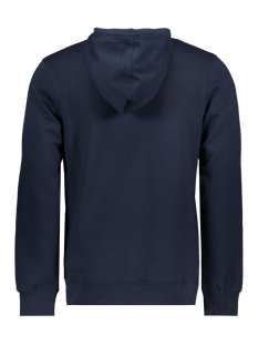 jcologan sweat hood 12143100 jack & jones sweater sky captain/scanartwork