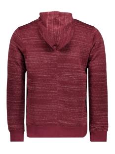 jcojaso sweat hood - camp 12143050 jack & jones sweater zinfandel/melange w.