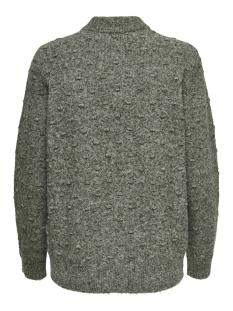 jdydotta l/s pullover knt 15163599 jacqueline de yong trui duffel bag/melange