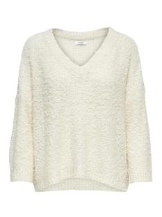 jdybucca l/s pullover knit 15166201 jacqueline de yong trui eggnog