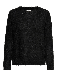 jdybucca l/s pullover knit 15166201 jacqueline de yong trui black