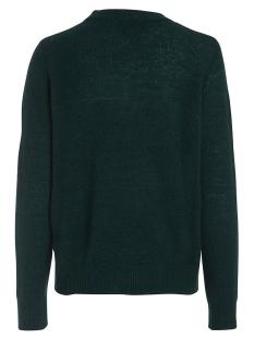 pcjane ls wool knit noos 17082987 pieces trui ponderosa pine/melange