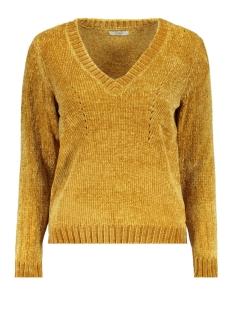 Jacqueline de Yong Trui JDYCHENILLA L/S V-NECK PULLOVER KNT 15160327 Gold Colour