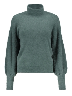 Noisy may Trui NMSOPHIE L/S HIGH NECK KNIT 7 27004446 Mallard Green