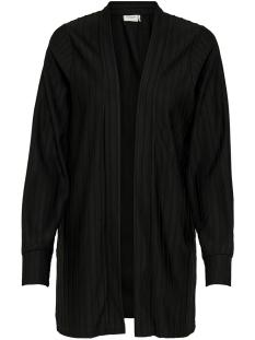Jacqueline de Yong Vest JDYSOMILA L/S CARDIGAN SWT 15163755 Black