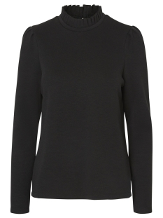 Vero Moda sweater VMFOREST LS PLEAT SWEAT GA 10206533 Black