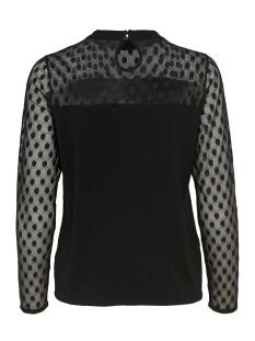 onlisola l/s pullover knt 15168913 only t-shirt black/dtm lace