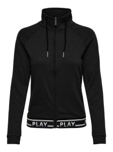 onpluna high neck zip sweat prs 15160053 only play sport vest black