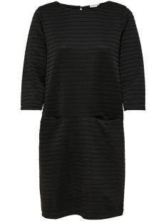 Jacqueline de Yong Jurk JDYSOMILA 3/4 DRESS SWT 15163754 Black