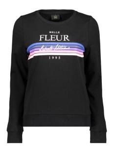 Only sweater onlELSE PRINT L/S O-NECK UB CC SWT 15173113 Black/FLEUR