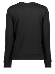 onlelse print l/s o-neck ub cc swt 15173113 only sweater black/fleur