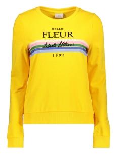 Only sweater onlELSE PRINT L/S O-NECK UB CC SWT 15173113 Solar Power/FLEUR