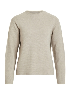Vila Trui VIOLIVANA KNIT TURTLENECK L/S TOP 14050167 Natural Melange