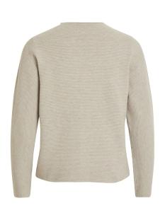 violivana knit turtleneck l/s top 14050167 vila trui natural melange