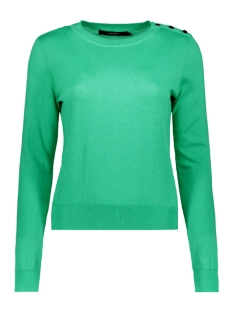 Vero Moda Trui VMMILDA LS O-NECK BUTTON BLOUSE BOO 10206754 Holly Green