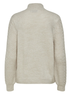 onlpil l/s highneck pullover knt 15170648 only trui whitecap gray
