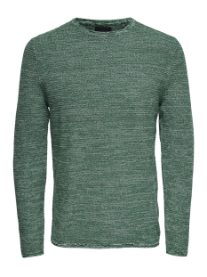 Only & Sons Trui onsWICTOR 12  STRUCTURE CREW NECK N 22012290 Bosphorus