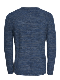 onswictor 12  structure crew neck n 22012290 only & sons trui imperial blue