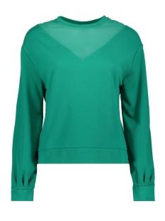 Only sweater onlELSEBETH L/S O-NECK SLEEVE MESH 15168787 Cadmium Green/DTM MESH