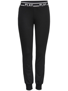 Only Play Sport broek onpLUNA SLIM SWEAT PANTS PRS 15160052 Black