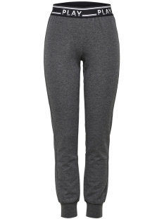 Only Play Sport broek onpLUNA SLIM SWEAT PANTS PRS 15160052 Dark Grey Melange