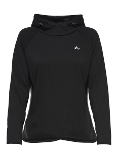 Only Play Sport trui onpJULIA HOOD SWEAT PRS 15159712 Black/W. BLACK