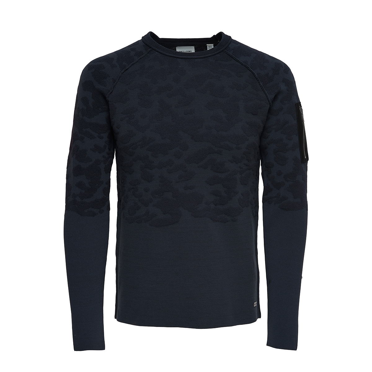 onstobi 12 crew neck 22006874 only & sons sweater dark navy